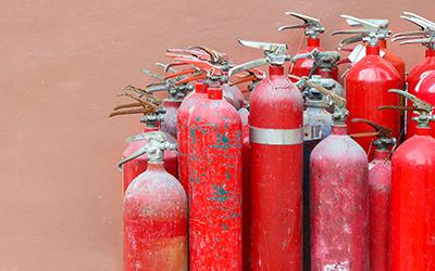 廃消火器リサイクル